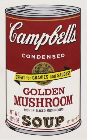 シルクスクリーン Warhol - Campbell'S Soup Ii: Golden Mushroom (Fs Ii.62)