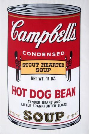 シルクスクリーン Warhol - Campbell's Soup II: Hot Dog Bean (FS II.59)