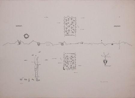 リトグラフ Baruchello - Campioni