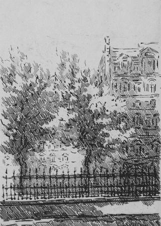 エッチング Castellani - Cancellata del British Museum