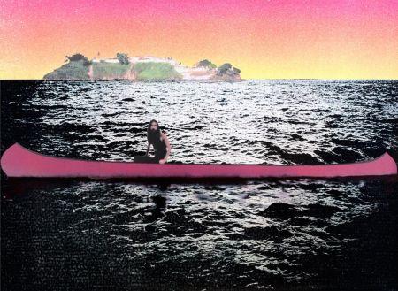 シルクスクリーン Doig - Canoe-Island