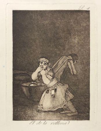 エッチング Goya - Capricho 4. El de la rollona