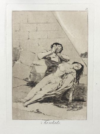 エッチング Goya - Capricho 9. Tantalo