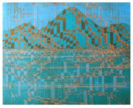 彫版 Hayter - Caragh lake