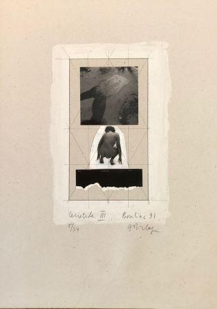 シルクスクリーン Delay - Cariatide III, Bouliac 91