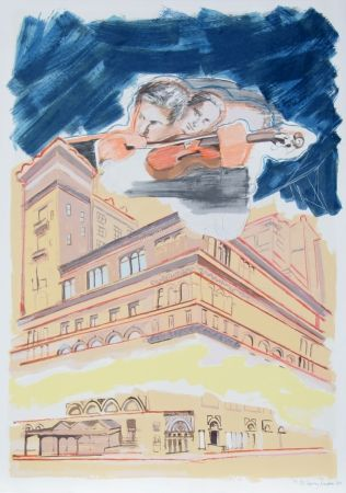 リトグラフ Rivers - Carnegie Hall