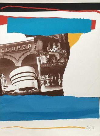 リトグラフ Motherwell - Carnegie Hall