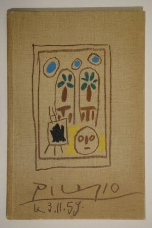 挿絵入り本 Picasso - Carnet de la Californie