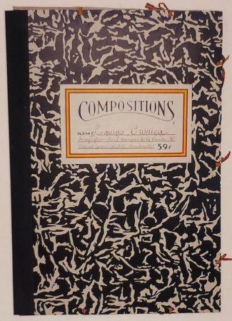 シルクスクリーン Equipo Cronica - Carpeta compositions