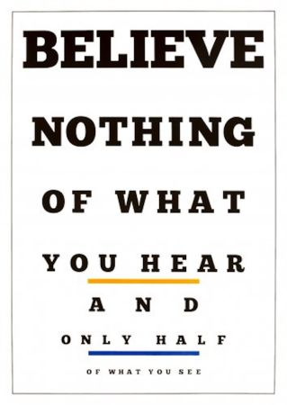 リトグラフ Navarro - Carta Visual (Believe)