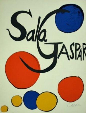 リトグラフ Calder - Cartel Sala Gaspar