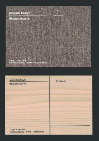 シルクスクリーン Beuys - Cartes Postales