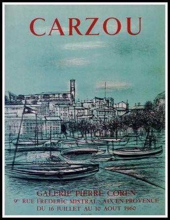 掲示 Carzou - CARZOU GALERIE PIERRE COREN, AIX EN PROVENCE