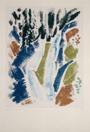 エッチング Masson - Cascade bleue