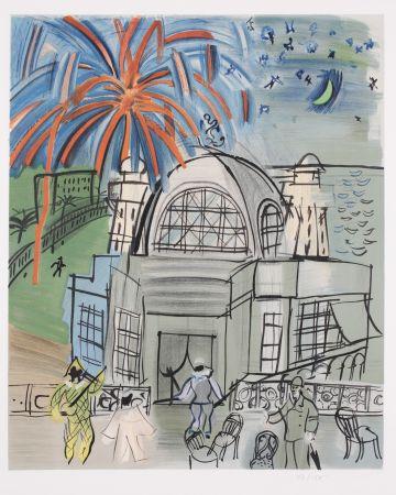 リトグラフ Dufy - Casino a Nice