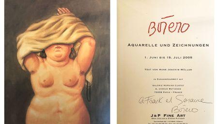 技術的なありません Botero - Catalogue dédicacé