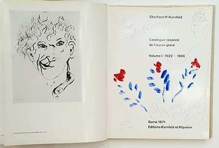 挿絵入り本 Chagall - Catalogue de l'oeuvre gravé - dessin