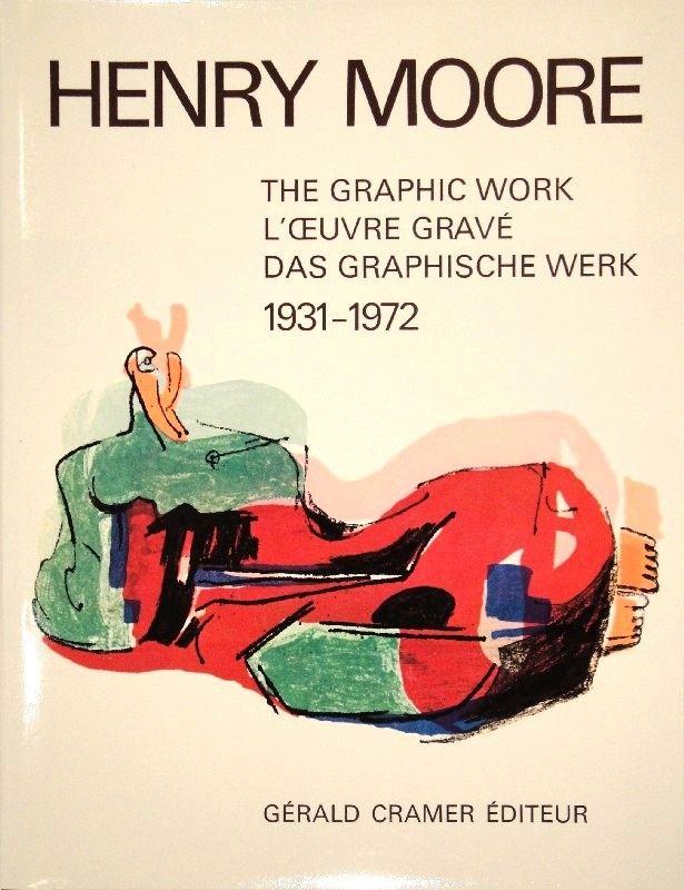 挿絵入り本 Moore - Catalogue of the graphic work. 1931-1972.