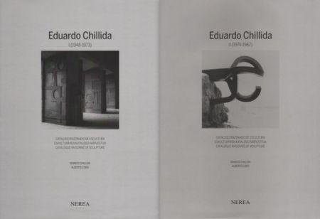 挿絵入り本 Chillida - Catalogue raisonné of Sculpture 2 Volumes