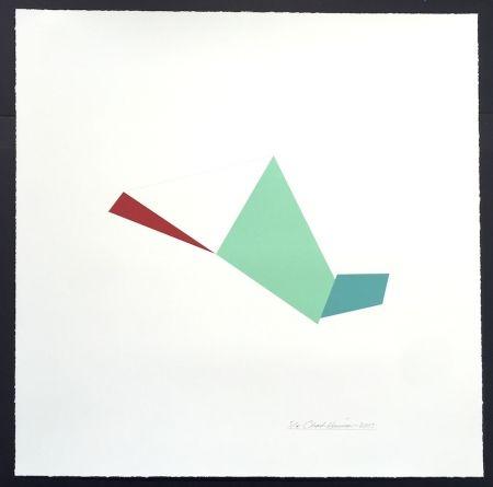 シルクスクリーン Hinman - Catapult, from Kites Suite