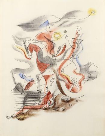 リトグラフ Masson - CAVALIER, 1933