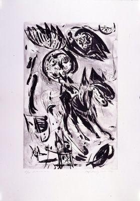 彫版 Pedersen - Cavalier noir
