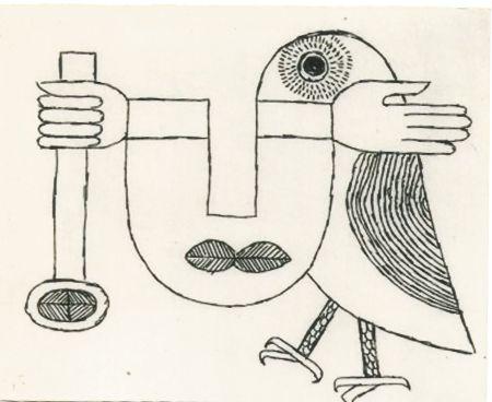 彫版 Brauner - Ce chateau pressenti