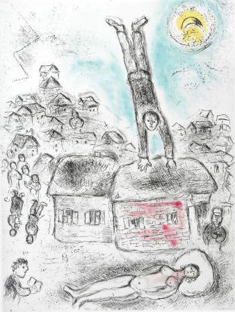 技術的なありません Chagall -  Ce lui qui dit les choses sans rien dire (Plate 10)