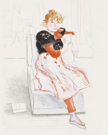 技術的なありません Hockney - Celia Observing