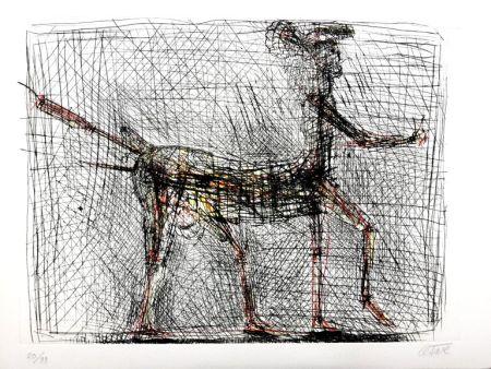 リトグラフ Cesar - Centaure - Hommage à Picasso
