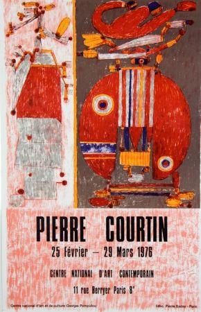 リトグラフ Courtin - Centre National D'Art Contemporain