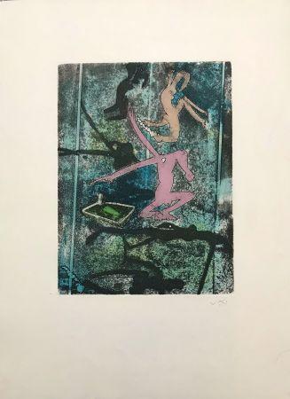 エッチングと アクチアント Matta - Centre Noeuds – Plate 4