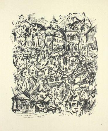 リトグラフ Richter-Berlin - Centrum Berlin