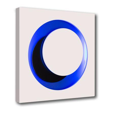 木版 Claisse - Cercle Blanc et Bleu