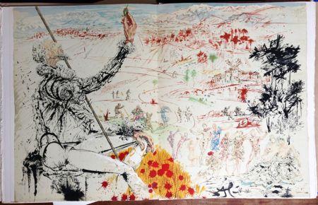 挿絵入り本 Dali - Cervantès : DON QUICHOTTE DE LA MANCHE (12 lithographies originales).
