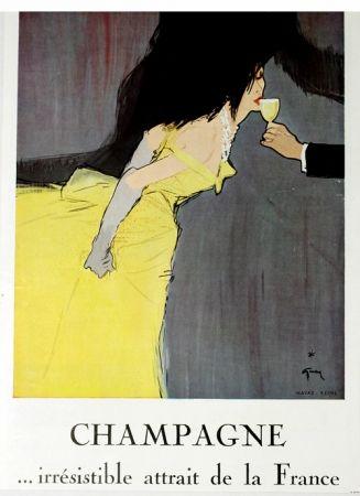オフセット Gruau - Champagne Irrestible  Atrait de la France