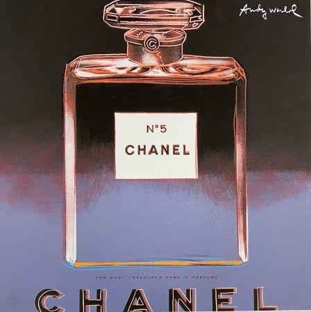 オフセット Warhol - Chanel No. 5 (Blue),