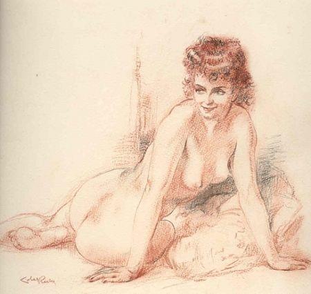 挿絵入り本 Lobel-Riche - Chanson pour Elle