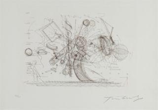 彫版 Tinguely - Chaos