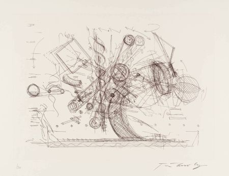 彫版 Tinguely - Chaos I