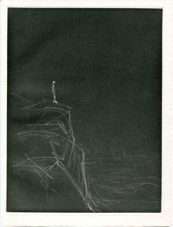 エッチング Giacometti - CHAR (René). Retour Amont.