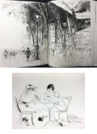 挿絵入り本 De Segonzac - Charles-Louis Philippe : BUBU DE MONTPARNASSE. Avec dessin original et suites (1929).