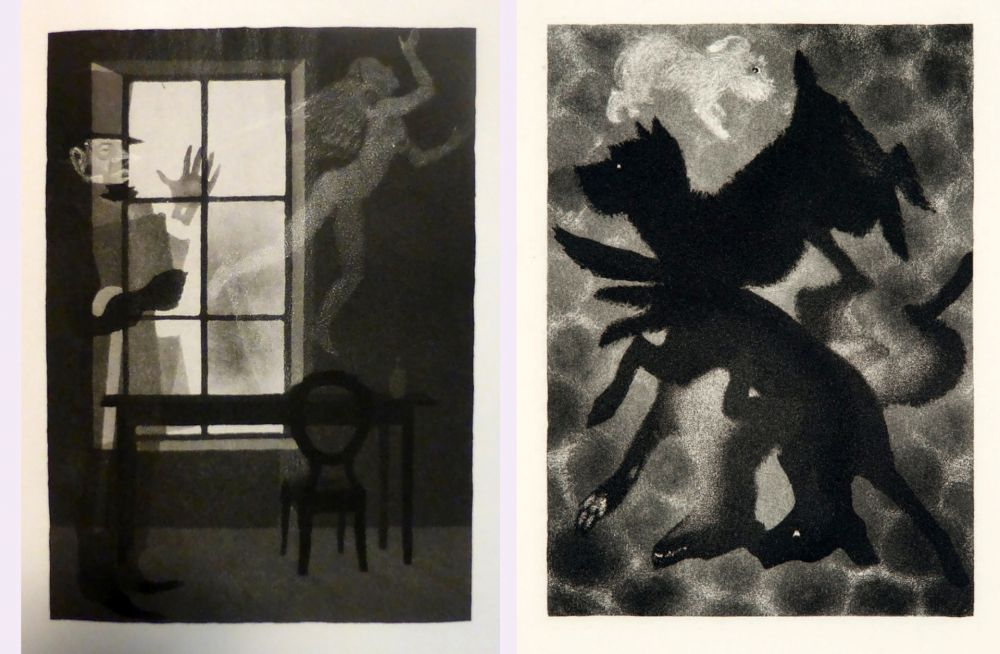 挿絵入り本 Alexeïeff - Charles Baudelaire : PETITS POÈMES EN PROSE. Eaux-fortes d'Alexeieff (1934).