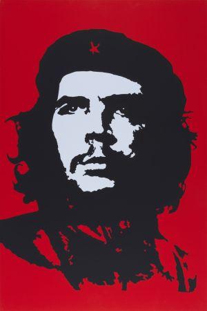 シルクスクリーン Warhol (After) - Che Guevara II.
