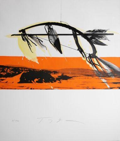 リトグラフ Soulie - CHEROKEE lithographie de TONY SOULIE