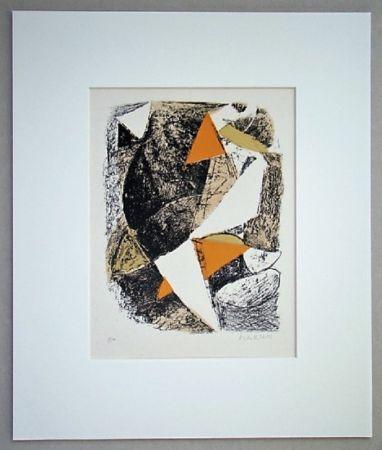 リトグラフ Marini - Cheval Et Cavalier