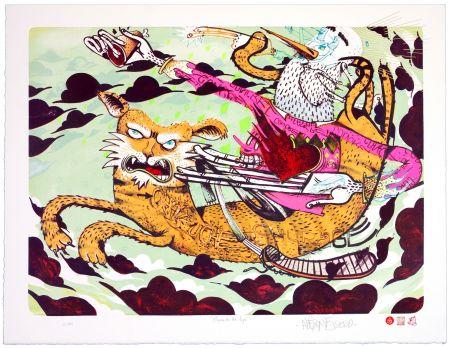 リトグラフ Alexone - Chevauche ton Tigre/Ride the Tiger