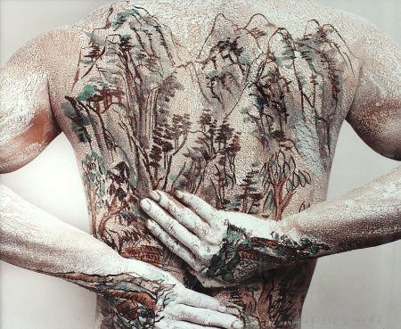 写真 Yan - Chinese Shanshui Tattoo