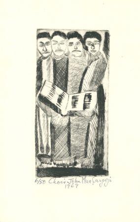 彫版 Muafangejo - Choir
