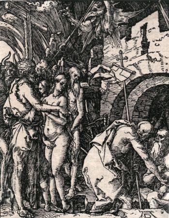 木版 Durer - Christ in Limbo